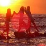 Potencialios žalingų saulės spindulių aukos – jaunuoliai